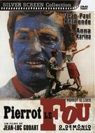 Pierrot le fou - Brazilian DVD movie cover (xs thumbnail)