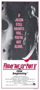 Friday the 13th: A New Beginning - Australian Movie Poster (xs thumbnail)
