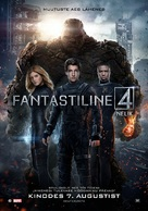 Fantastic Four - Estonian Movie Poster (xs thumbnail)