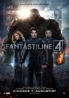 Fantastic Four - Estonian Movie Poster (xs thumbnail)