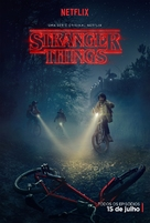 """Stranger Things"" - Brazilian Movie Poster (xs thumbnail)"