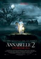 Annabelle: Creation - Slovak Movie Poster (xs thumbnail)