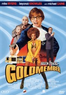 Austin Powers in Goldmember - French DVD movie cover (xs thumbnail)