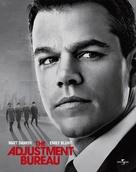 The Adjustment Bureau - British Movie Cover (xs thumbnail)