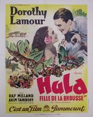 The Jungle Princess - French Movie Poster (xs thumbnail)