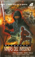 Ninja the Protector - Spanish Movie Cover (xs thumbnail)