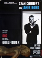 Goldfinger - Danish Movie Poster (xs thumbnail)