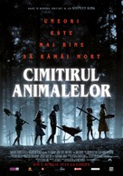 Pet Sematary - Romanian Movie Poster (xs thumbnail)