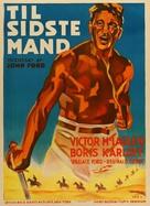 The Lost Patrol - Danish Movie Poster (xs thumbnail)