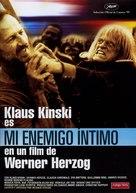 Mein liebster Feind - Klaus Kinski - Spanish Movie Cover (xs thumbnail)