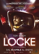 Locke - Italian Movie Poster (xs thumbnail)