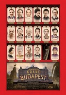 The Grand Budapest Hotel - Greek Movie Poster (xs thumbnail)