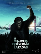 Rise of the Planet of the Apes - Hungarian Movie Poster (xs thumbnail)