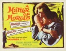 A Matter of Morals - Movie Poster (xs thumbnail)