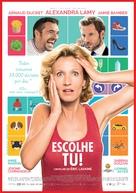 L'embarras du choix - Portuguese Movie Poster (xs thumbnail)