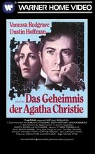 Agatha - German VHS movie cover (xs thumbnail)