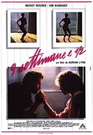 Nine 1/2 Weeks - Italian Movie Poster (xs thumbnail)
