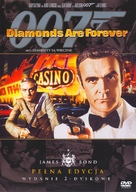 Diamonds Are Forever - Polish DVD cover (xs thumbnail)