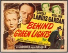 Behind Green Lights - Movie Poster (xs thumbnail)