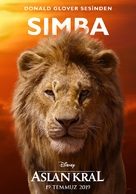 The Lion King - Turkish Movie Poster (xs thumbnail)