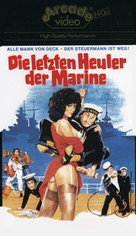 La dottoressa preferisce i marinai - German VHS movie cover (xs thumbnail)