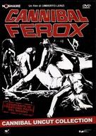 Cannibal ferox - Italian DVD movie cover (xs thumbnail)