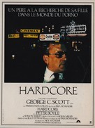 Hardcore - French Movie Poster (xs thumbnail)