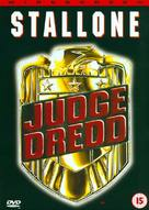Judge Dredd - British DVD cover (xs thumbnail)