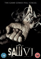 Saw VI - British Movie Cover (xs thumbnail)