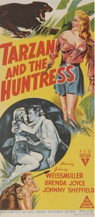 Tarzan and the Huntress - Australian Movie Poster (xs thumbnail)