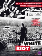 White Riot - French Movie Poster (xs thumbnail)