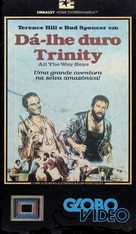 Più forte, ragazzi! - Brazilian VHS cover (xs thumbnail)