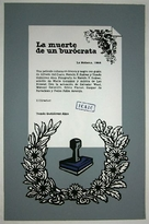 Muerte de un burócrata, La - Cuban Movie Poster (xs thumbnail)