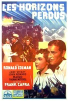 Lost Horizon - French Movie Poster (xs thumbnail)