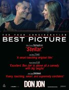Don Jon - For your consideration movie poster (xs thumbnail)