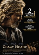 Crazy Heart - Finnish Movie Poster (xs thumbnail)