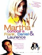 Martha, Meet Frank, Daniel and Laurence - Spanish Movie Poster (xs thumbnail)