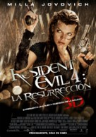 Resident Evil: Afterlife - Mexican Movie Poster (xs thumbnail)