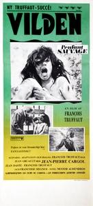 L'enfant sauvage - Swedish Movie Poster (xs thumbnail)