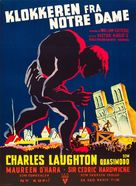 The Hunchback of Notre Dame - Danish Movie Poster (xs thumbnail)