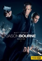 Jason Bourne - Hungarian Movie Poster (xs thumbnail)