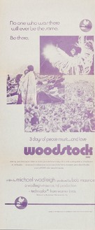 Woodstock - Australian Movie Poster (xs thumbnail)