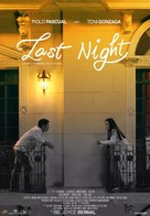 Last Night - Philippine Movie Poster (xs thumbnail)