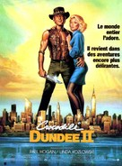 Crocodile Dundee II - French Movie Poster (xs thumbnail)