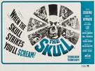 The Skull - British Movie Poster (xs thumbnail)