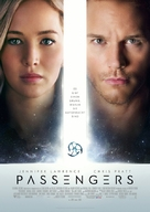 Passengers - German Movie Poster (xs thumbnail)
