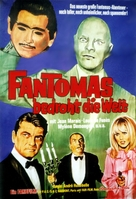 Fantômas contre Scotland Yard - German Movie Poster (xs thumbnail)