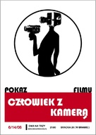 Chelovek s kino-apparatom - Polish Re-release poster (xs thumbnail)