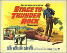 Stage to Thunder Rock - Movie Poster (xs thumbnail)