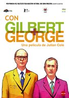 With Gilbert & George - Spanish Movie Poster (xs thumbnail)